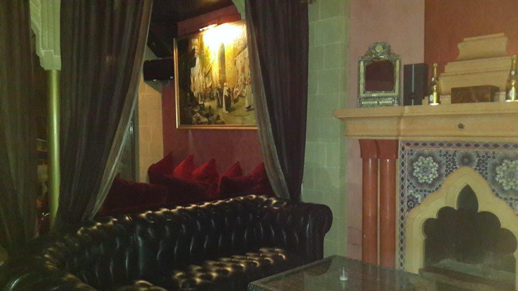 The VIP Imperial Room at Riad Yacout