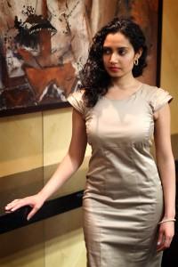 Nadine Beige Dress