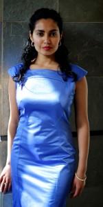 Nadine Blue Dress