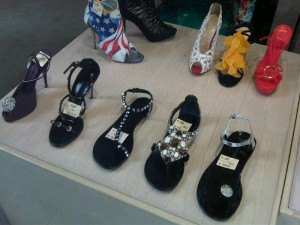 Designer shoes in Como´s boutique stores