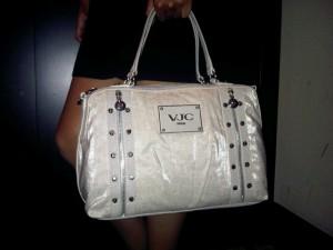 Versace beige bag