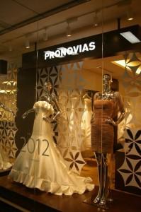 Pronovias window