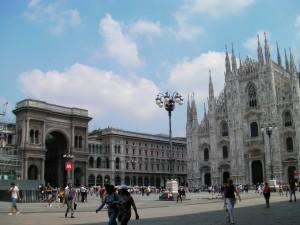 Milan's city centre