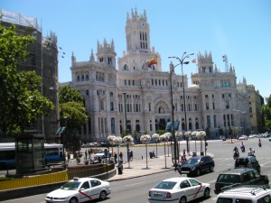 Madrid in the summer