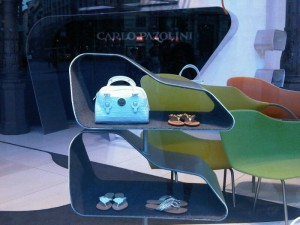 Window display in Milan