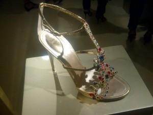 Rene Caovilla Murano-inspired multicolour sandal