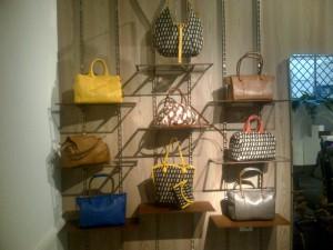 Corto Moltedo bags on display