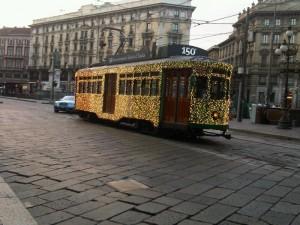 A city tram