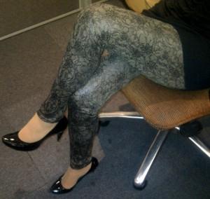 Calzedonia lace-print leggings