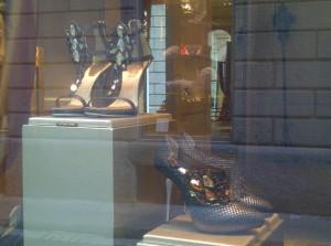 Rene Caovilla's encrusted heels