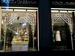 Dolce & Gabbana window
