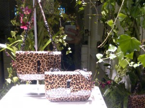 Limited edition leopard-print bag from Tosca Blu