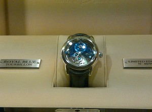 Royal Blue Tourbillon Ltd Edition from Ulysse Nardin