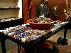 Rubinacci's silk ties
