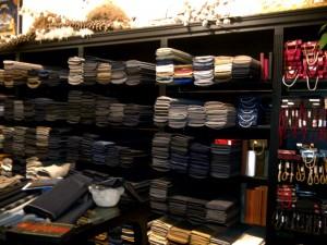 Rubinacci's vintage fabrics