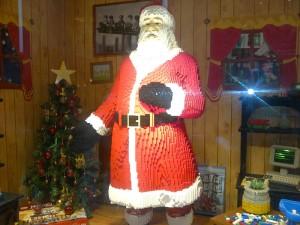 The Lego Santa Claus