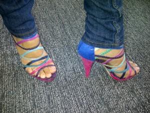 Multicolour sandals from Aldo