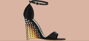 Gianvito Rossi wedged sandal