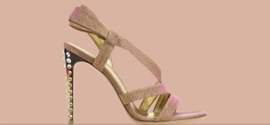 Gianvito Rossi lurex sandal