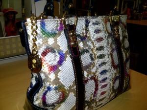 My multicolour Marino Orlandi tote bag