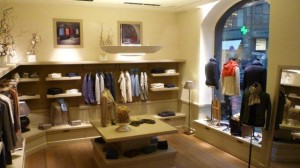 The ground floor of the Piacenza store