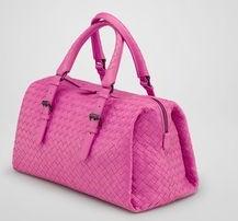 Bottega Veneta pink tote bag