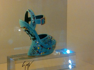 Giuseppe Zanotti's wedged sandals