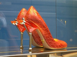 Prada's Limited Edition shoes for Fashion Week