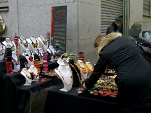 Jewellery in Brera