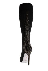 Embellished 'sock' boot