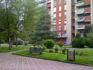 The residential gardens