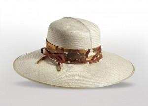 Borsalino wide-brimmed hat