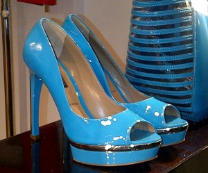Bruno Magli peep-toe heels
