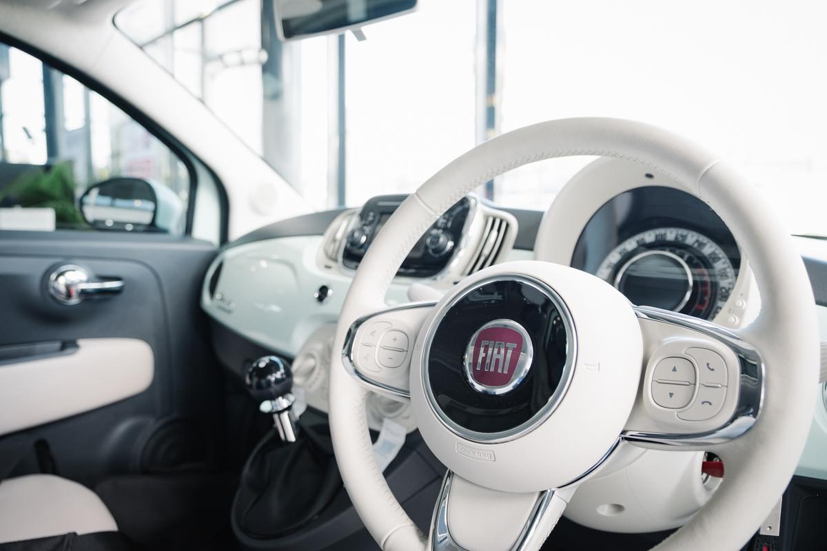 Inside Fiat 500 TwinAir