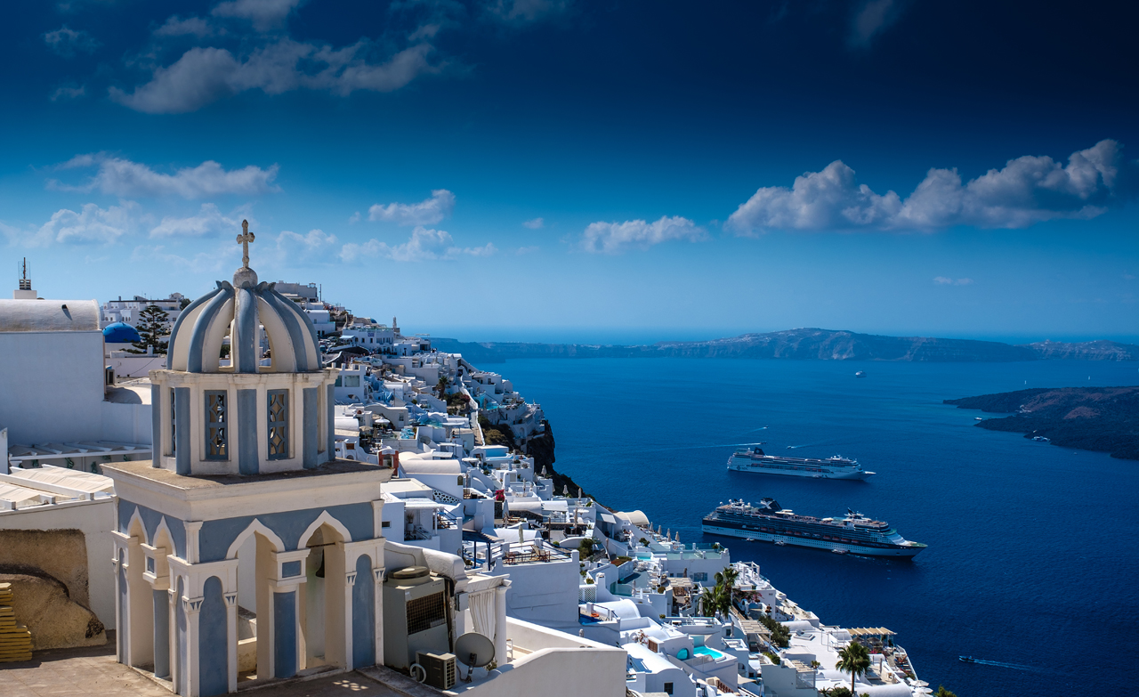 Santorini is serene and breathtakingly beautiful
