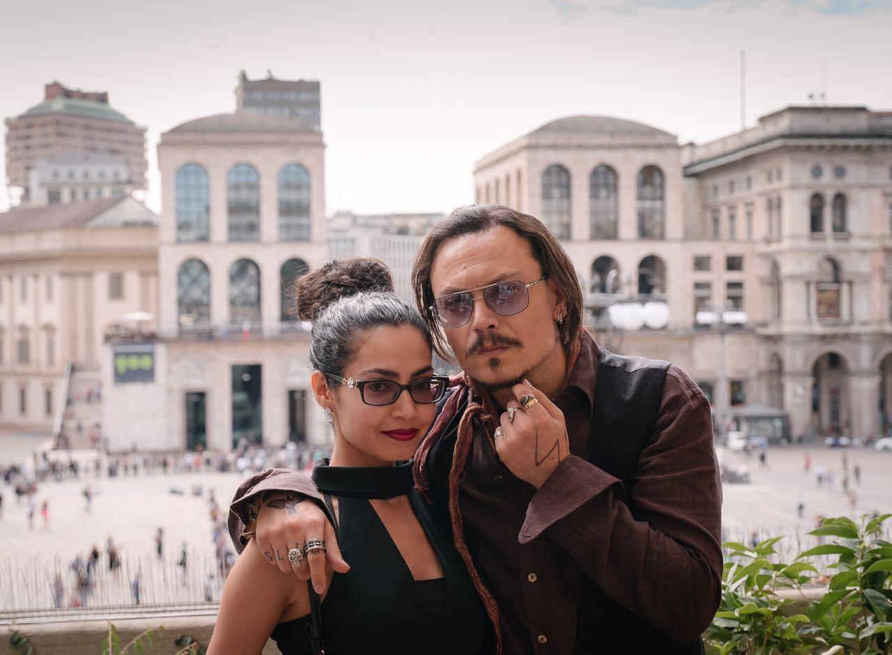 Umayya Theba and Johnny Depp meet in Milano
